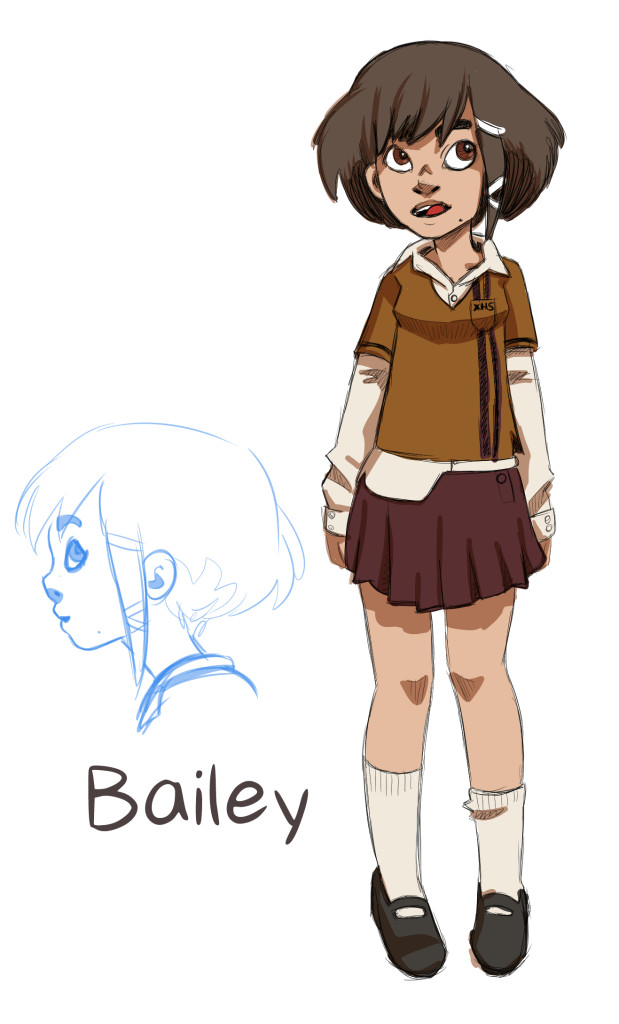 bailey character design 1